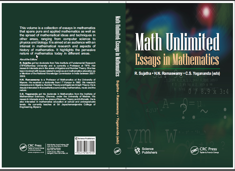 essay about history of mathematics Student presentations and research papers are more common in mathematics history courses than in other math courses these presentations and papers vary in length.