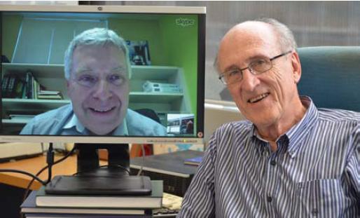 Peter Hall and Ian Sloan