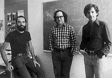 Ron, Adi and Leonard